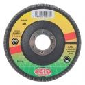 Disque à lamelles zirconium - Ø 125 mm - Grain 80 - SCID