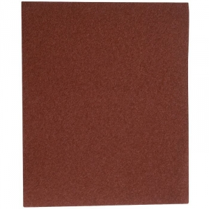 Papier abrasif corindon - 230 x 280 mm - Grain 60 - Support toile - SIA Abrasives