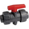 Vanne PVC pression noire - Ø 32 mm - Haute performance - Girpi