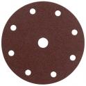 Disque papier auto-agrippant 8 trous - Ø150 mm - Grain 100 - SIA Abrasives