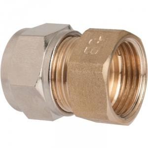 "Raccord laiton droit à serrage - F 3/8"" - Ø 10 mm - Rapido - Sélection Cazabox"