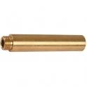"""Rallonge laiton droit à visser - M 3/8"""" - F 3/8"""" - 75 mm - Thermador"""
