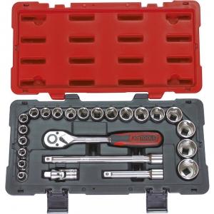 """Clé à douille - M 1/2"""" - Coffret de 24 pièces - KS Tools"""
