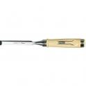 Ciseau à bois - 160 x 25 mm - manche bois - Stanley