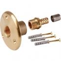 "Applique sortie de cloison à sertir - PER Ø 12 mm - F 1/2"" - Watts industries"