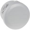 Boîte blanche ronde - Ø 70 x 45 mm - 4 embouts - Couvercle enclipsable - Plexo - Legrand
