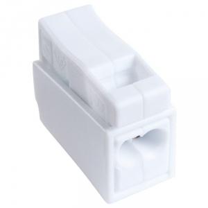 Borne de connexion blanche - 2 fils - Fil souple / fil rigide - Vendu par 100 - SIB