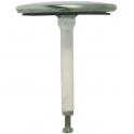 Clapet de vidage pour Lavabo Ø 53 mm - Hauteur 64 à 85 mm - Nicoll