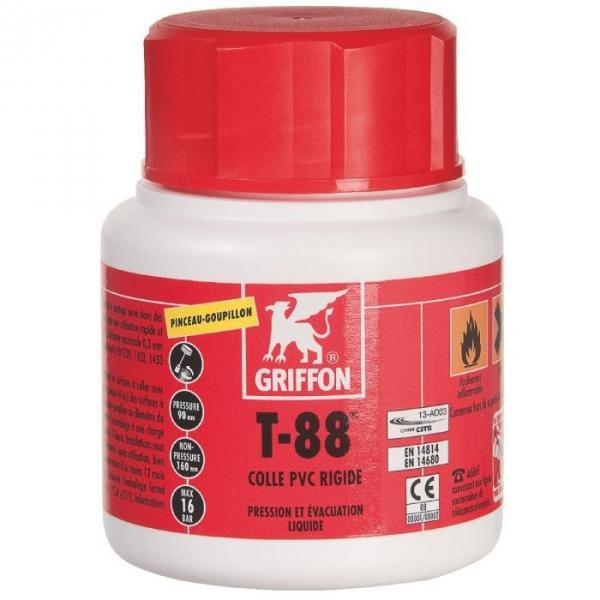Colle PVC - 500 ml - T 88 - Griffon