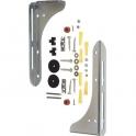 Console de lavabo - 32 cm - Lot de 2 - Plombelec