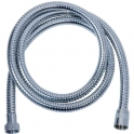 Flexible double agrafage chromé - anti-torsion - 2 m - Disflex
