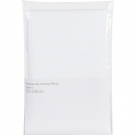 Rideau PVC blanc - sans anneaux - 120 x 200 cm - Sélection Cazabox