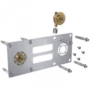"""Sortie de cloison double à compression - Entraxe 150 mm - PER Ø 12 mm - F 1/2"""" - Robifix - Watts industries"""