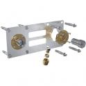"""Sortie de cloison double à compression - Entraxe 150 mm - PER Ø 16 mm - F 1/2"""" - Robifix - Watts industries"""
