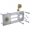"""Sortie de cloison double à glissement - Entraxe 150 mm - PER Ø 16 mm - F 1/2"""" - Robifix - Watts industries"""