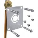 """Sortie de cloison simple à souder - Cuivre Ø 14 mm - F 1/2"""" - Robifix - Watts industries"""