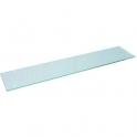 Tablette de lavabo en verre - 600 mm - Sélection Cazabox