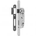 Serrure à larder acier verni gauche à fouillot - Clé I - Axe à 40 mm - Série D4500 - Vachette