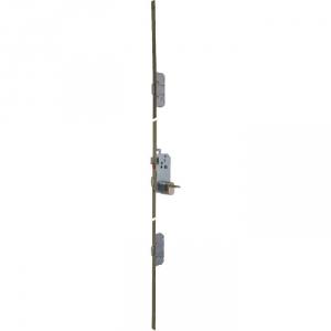 Serrure multipoint bronze gauche à fouillot - Clé I - Axe à 50 mm - Trilock 5000 A2P** SGN2 - Vachette