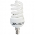 Ampoule Spirale - B22 - 15 W - 2800 K - Dhome