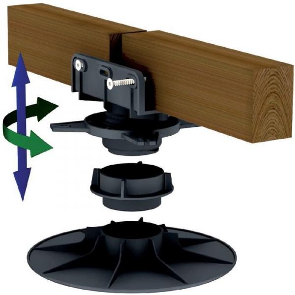 plot r glable pour terrasse 40 50 mm verindal. Black Bedroom Furniture Sets. Home Design Ideas