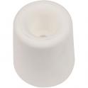 Butoir rond caoutchouc blanc creux - Ø 30 x 32 mm - Civic industrie