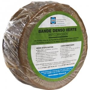 Bande anti-corrosion verte - 100 mm - 10 m - Denso