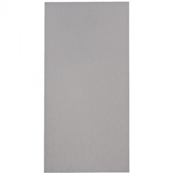 Plaque de propreté nox brillant - Rectangulaire - 300 x 150 mm - Adhésif - Duval