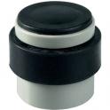 Butoir rond nylon gris / noir plein - Ø 38 x 40 mm - Eurowale