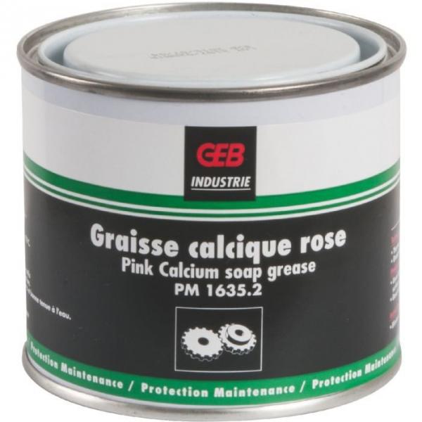 Graisse calcique rose - 300 g - Geb