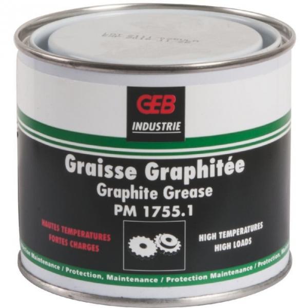 Graisse graphitée - 350 g - Geb