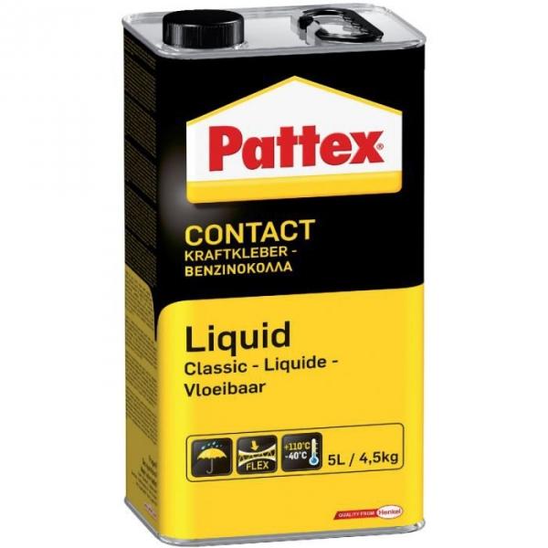 Colle néoprène liquide - 4,5 kg - Pattex