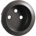 Enjoliveur graphite - Prise 2P+T standard - Céliane - Legrand