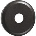 Enjoliveur graphite - Prise simple coaxial mâle - Céliane - Legrand
