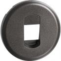 Enjoliveur graphite - Prise simple RJ 45 informatique - Céliane - Legrand
