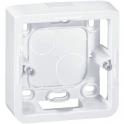 Cadre saillie blanc - 40 mm - 2 modules - Mosaic - Legrand