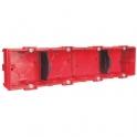 Boîte d'encastrement maçonnerie - 287 x 71 x 40 mm - 4 postes - Batibox - Legrand
