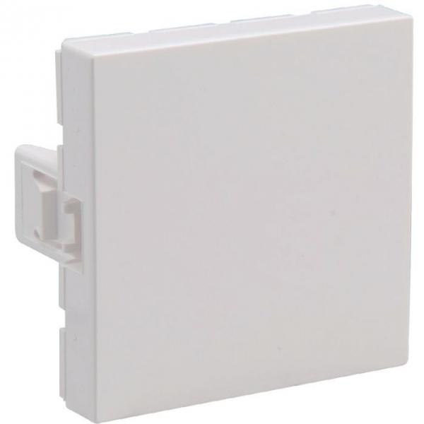 Obturateur blanc - 2 modules - Mosaic - Legrand