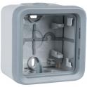 Boîtier gris composable - 1 poste - Plexo - Legrand
