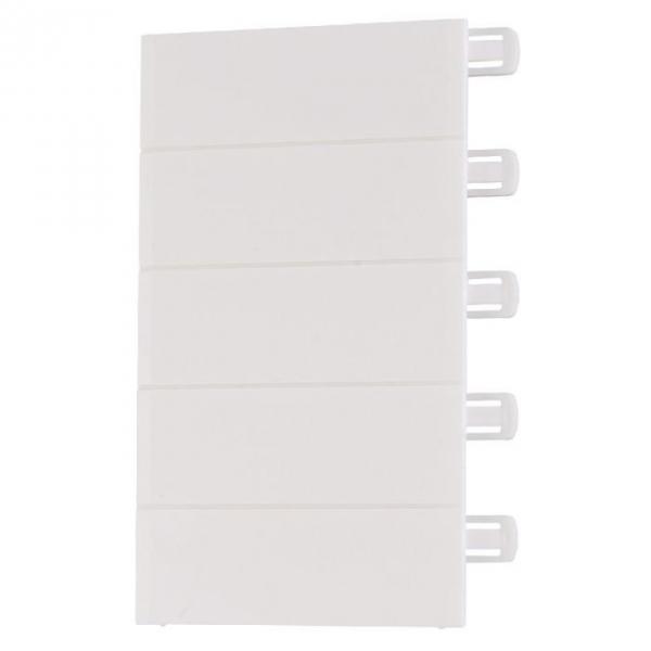 Obturateur blanc - 13 modules - Pour coffret Ekinoxe - Legrand
