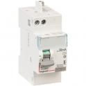 Interrupteur bipolaire DX³ ID - Type AC - 40 A - 2 modules - Connexio vis / auto - Arrivée haut / départ haut - Legrand
