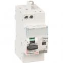 Disjoncteur différentiel DX³ 4500 - 6 kA courbe C - 40 A - Sensibilité 30 mA - 2 modules - Connexion vis / auto - Legrand