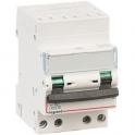 Disjoncteur DX³ 6000 - 10 kA courbe C - 20 A - 3 modules - Connexion auto / vis - Legrand