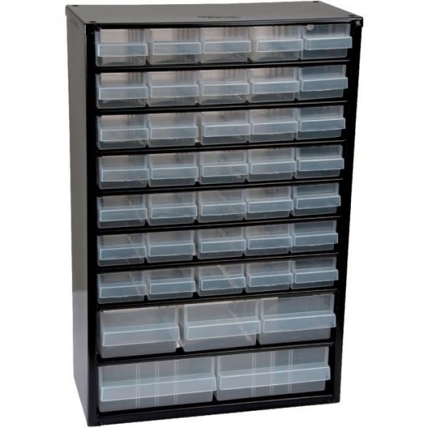 Casier métallique - 40 tiroirs - Raaco