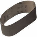 Bande courte corindon - 100 x 552 mm - Grain 80 - Support toile - 10 pièces - SIA Abrasives