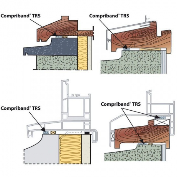 joint mousse polyur thane 20 mm 8 m compriband trs. Black Bedroom Furniture Sets. Home Design Ideas
