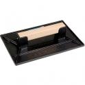 Taloche rectangulaire noir - 35 x 27 cm - Outibat