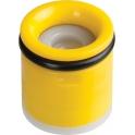 Clapet anti-retour jaune - 10L/min - Sélection Cazabox