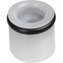 Clapet anti-retour blanc - Ø 10 mm - AMFAG