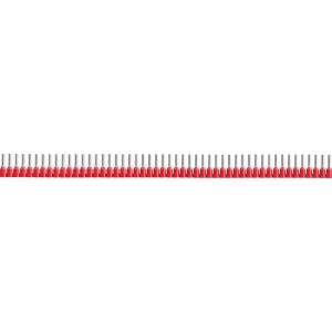 Embout de câblage rouge en bande - Section 1 mm² - Vendu par 500 - Klauke